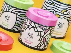 俄罗斯JAF TEA茶叶品牌包装欣赏