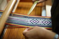 除了药妆盒美食还有个非遗 台湾泰雅族传统编织