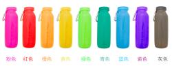 耐烧耐冻美国bubi硅脂可折叠水瓶   能用一辈子的水杯