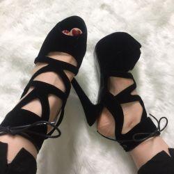 外贸大码性感女鞋工厂求合作