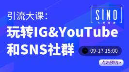 引流大课:玩转IG&YouTube和SNS社群