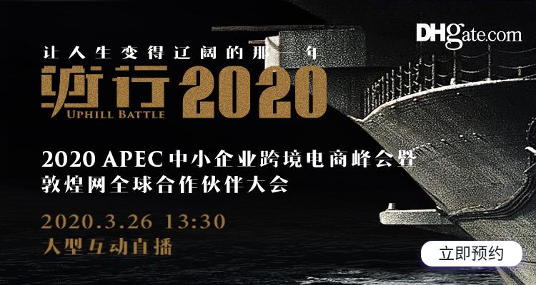 2020 APEC中小企业跨境电商峰会暨敦煌网全球合作伙伴大会