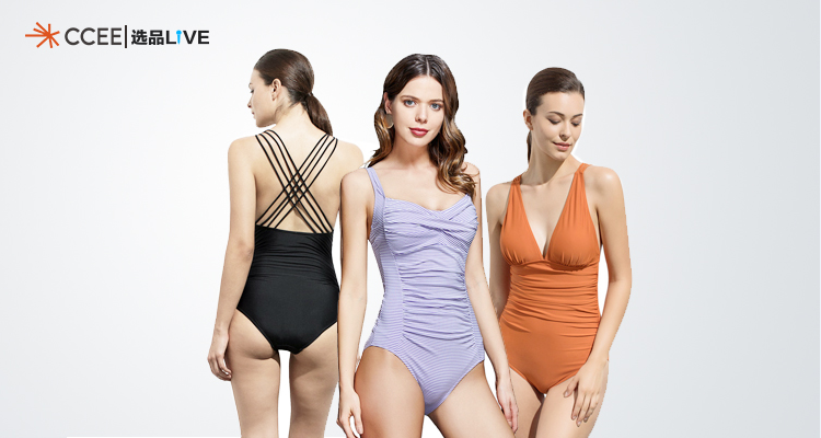 时尚连体泳衣,亚马逊官方合作欧美热销