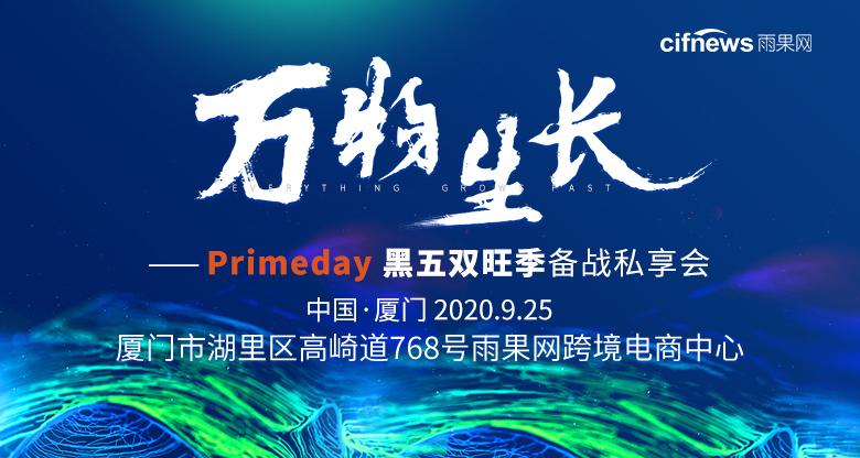 万物生长-PrimeDay黑五双旺季备战私享会