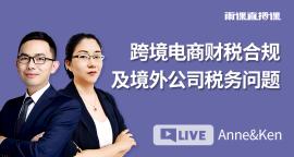 跨境电商财税合规及境外公司税务问题