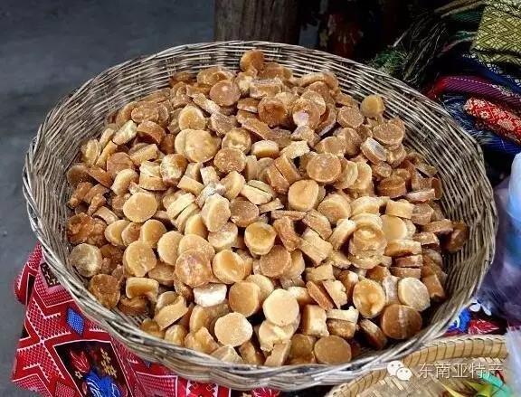 甜蜜蜜 怎么吃都不胖 柬埔寨特产棕榈糖知道么?
