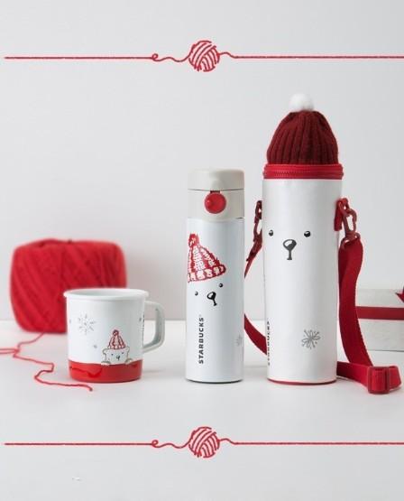 好物就要分享啊~星巴克圣诞咖啡杯,萌化你的心