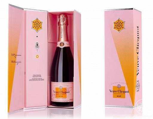 法国凯歌香槟推出可录音桃红香槟礼盒