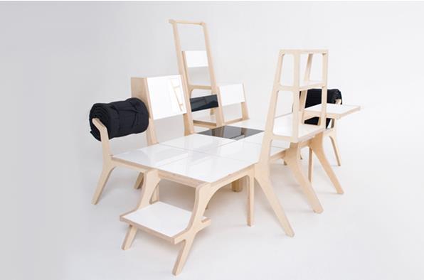 桌子?椅子?床?贵妃榻...  可任意组装的韩国创意家居