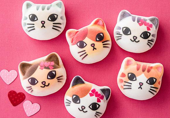 你舍得吃啊?日本Felissimo猫部喵星人棉花糖萌到笑出声来