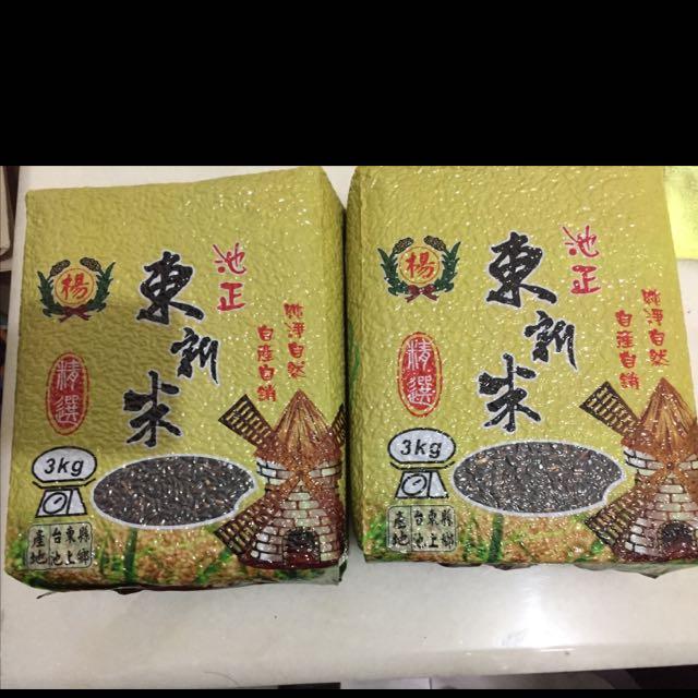 台灣的米品質真的很好,尤其花東米,應爲水質好棒。