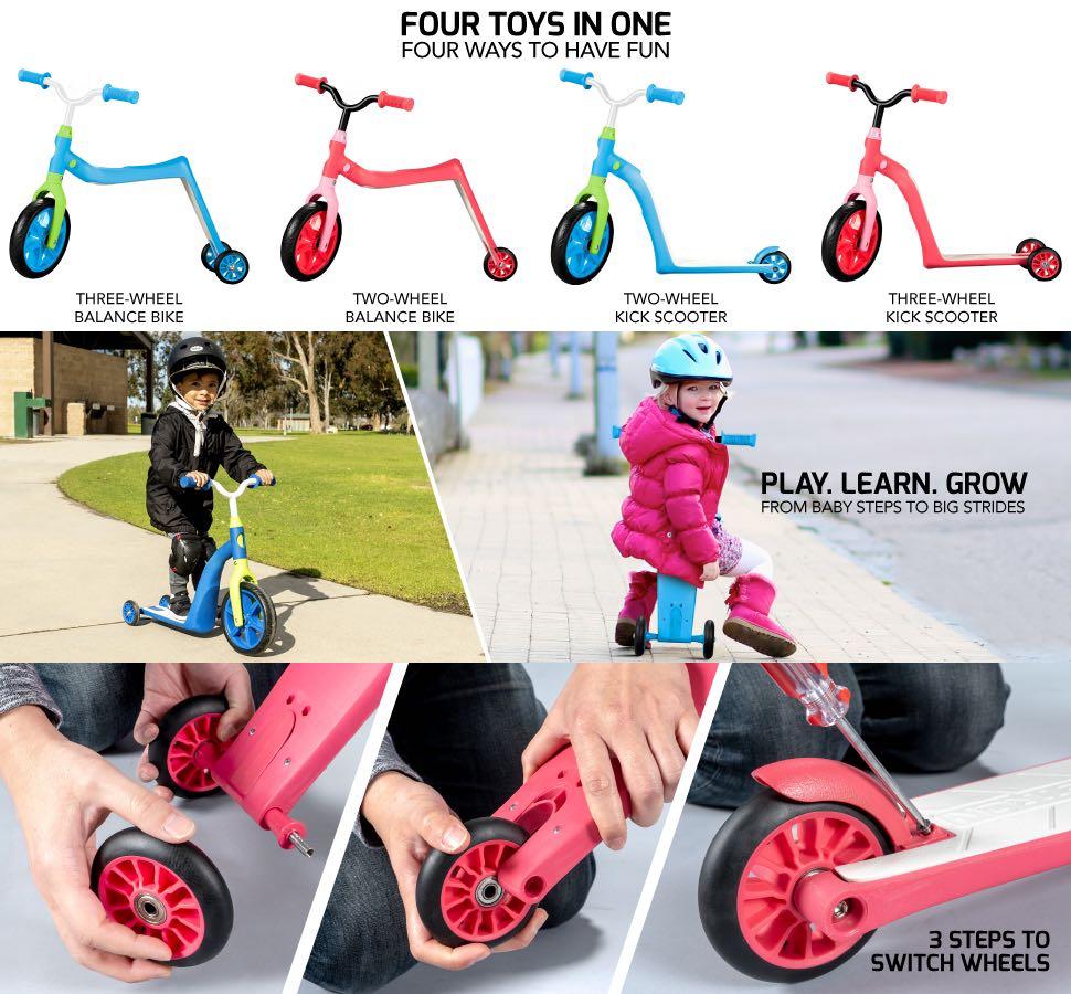 儿童平衡车特点